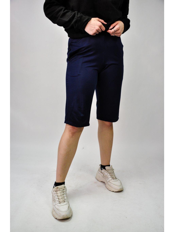 modré puma šortky