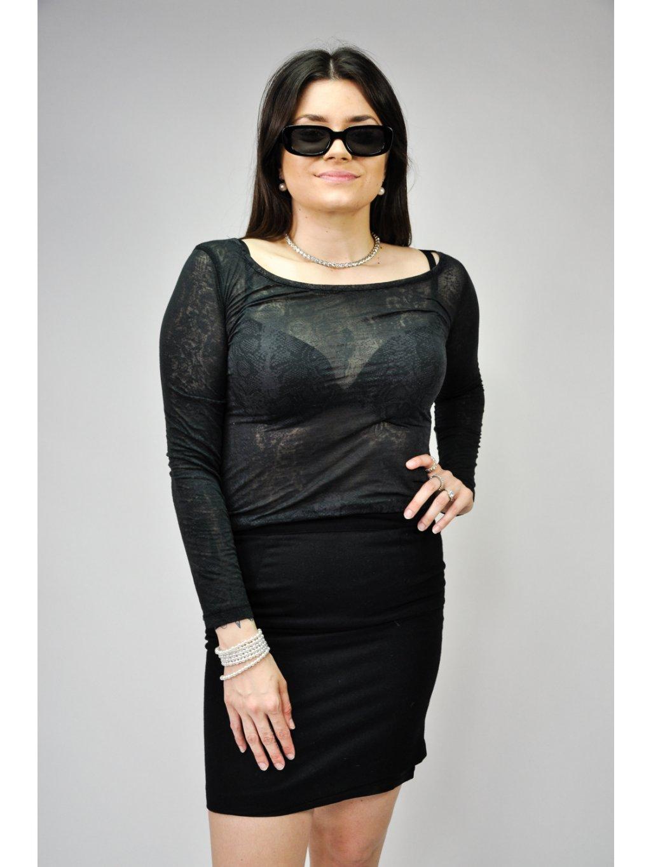 černá sukně UNITED COLORS OF BENETTON