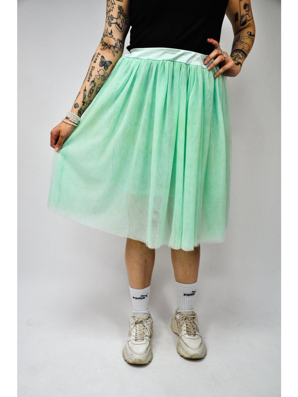 mint tutu sukně