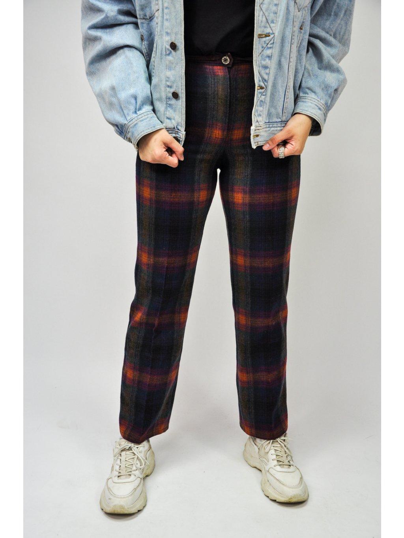 kárované kalhoty