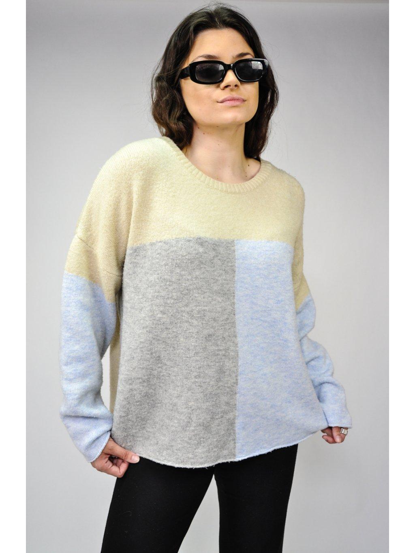pastelový svetr