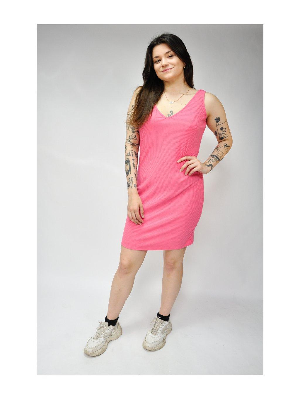 růžové prodyšné letní šaty