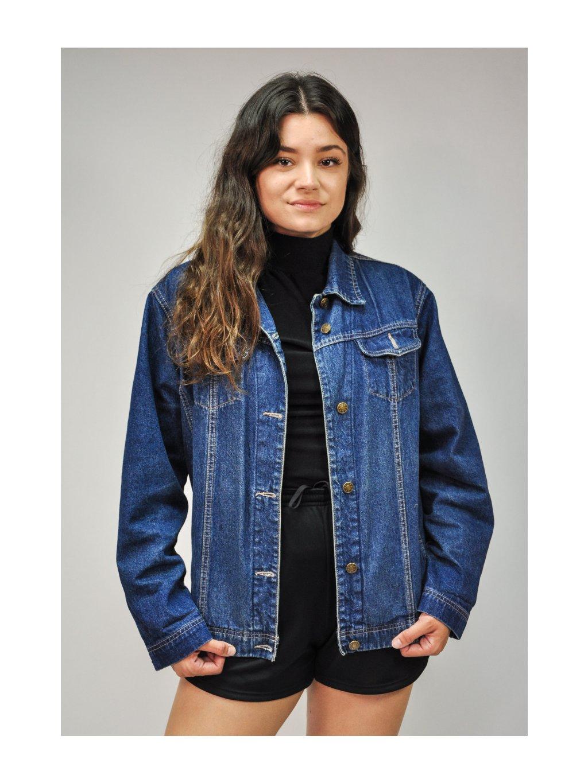 modrá basic džíska