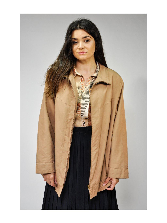 hnědý kabátek