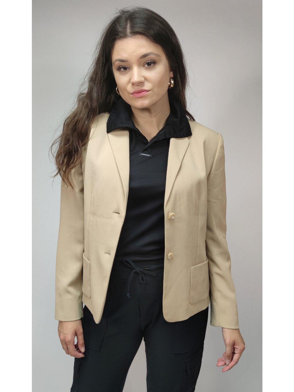 světle hnědé elegantní sako