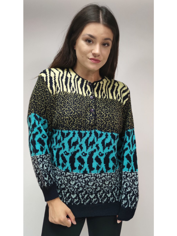 krejzy vintage svetr