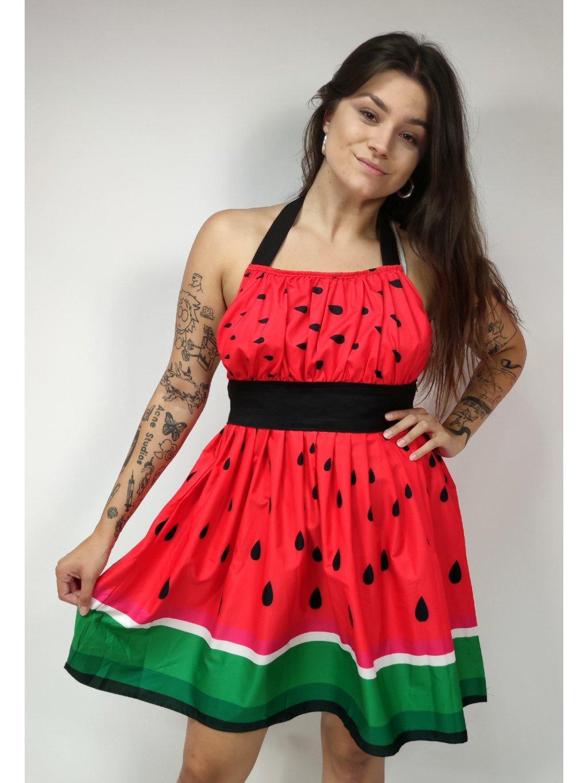 melounové šaty