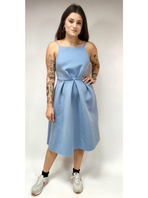 modré šaty ASOS