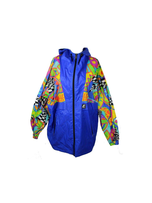 pánská barevná vintage bunda