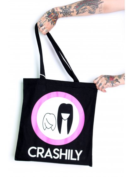 Crashily plátěná taška