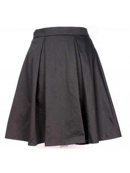 boží černá skládaná sukně