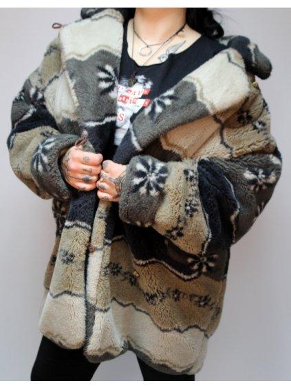 umělý zimní kožich