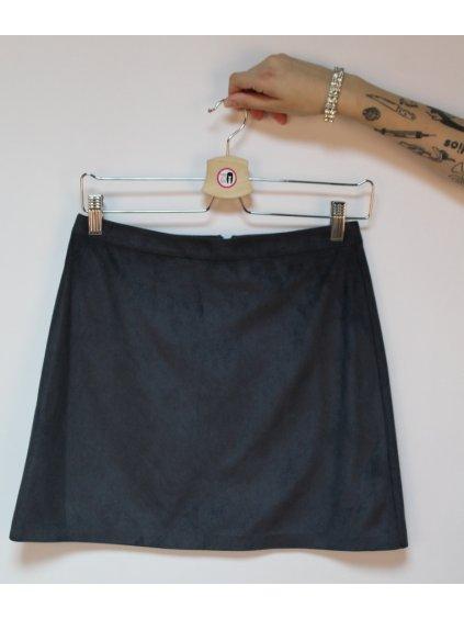 šedivá sukně