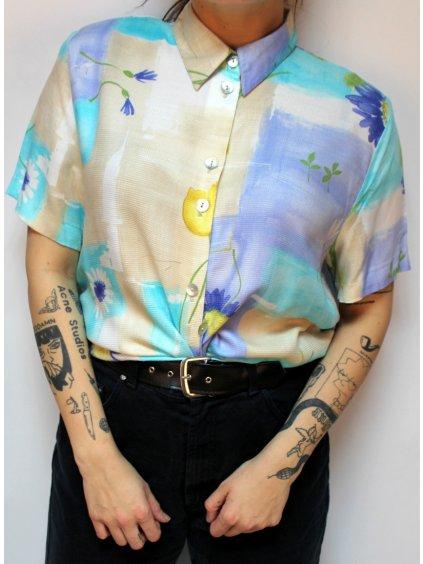 vodovková vintage košile