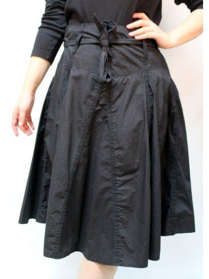 černá goth sukně