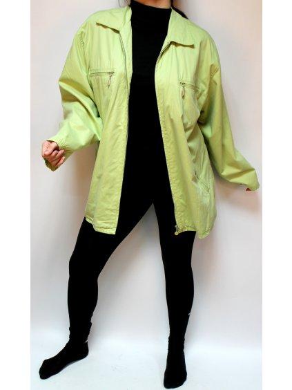 Zelená jarní bunda