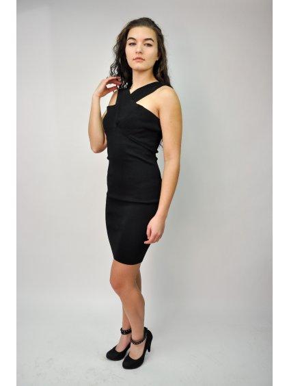 černé šaty ZARA
