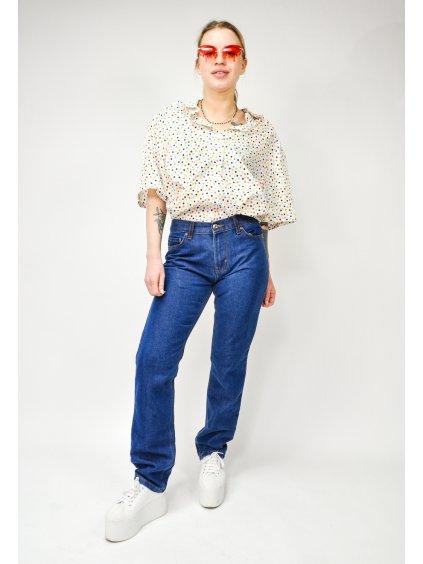 modré džíny