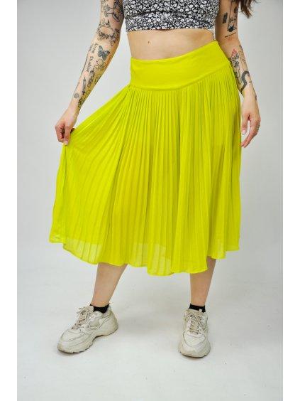 zelenkavá kraťasová sukně ASOS