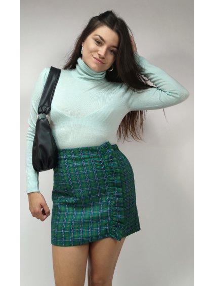 károvaná sukně TOPSHOP
