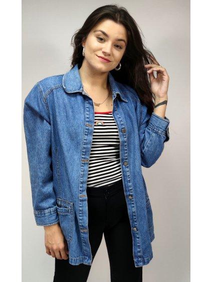 džínová vintage košile