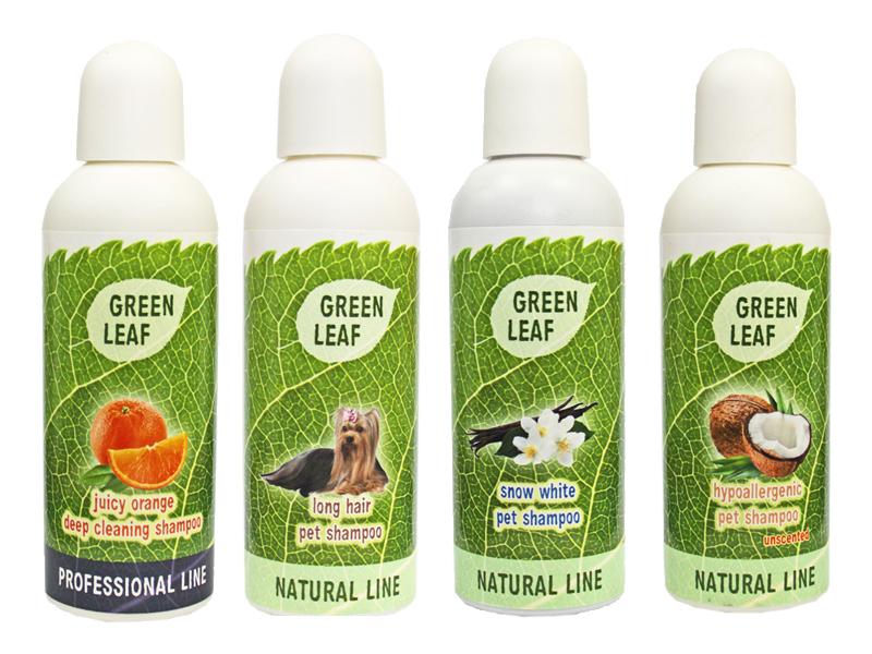 Bio šampony Green Leaf