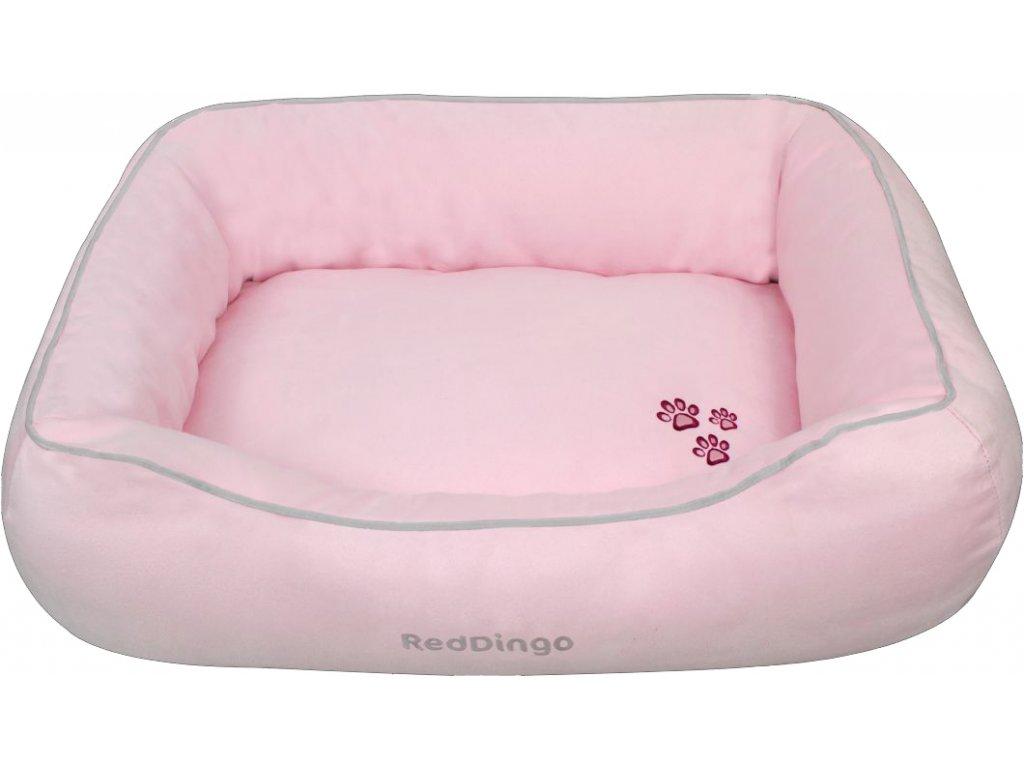 Kvalitní pelíšek pro psa Red Dingo růžový