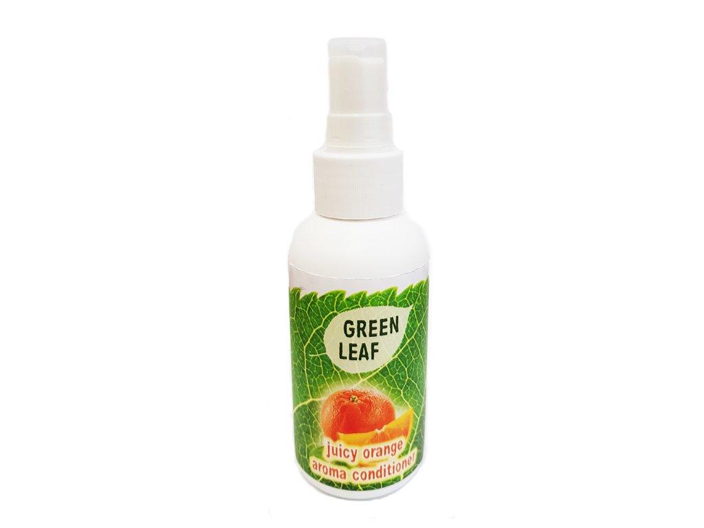 Bio AROMA konditioner pro psa Green Leaf pomerančový 100ml