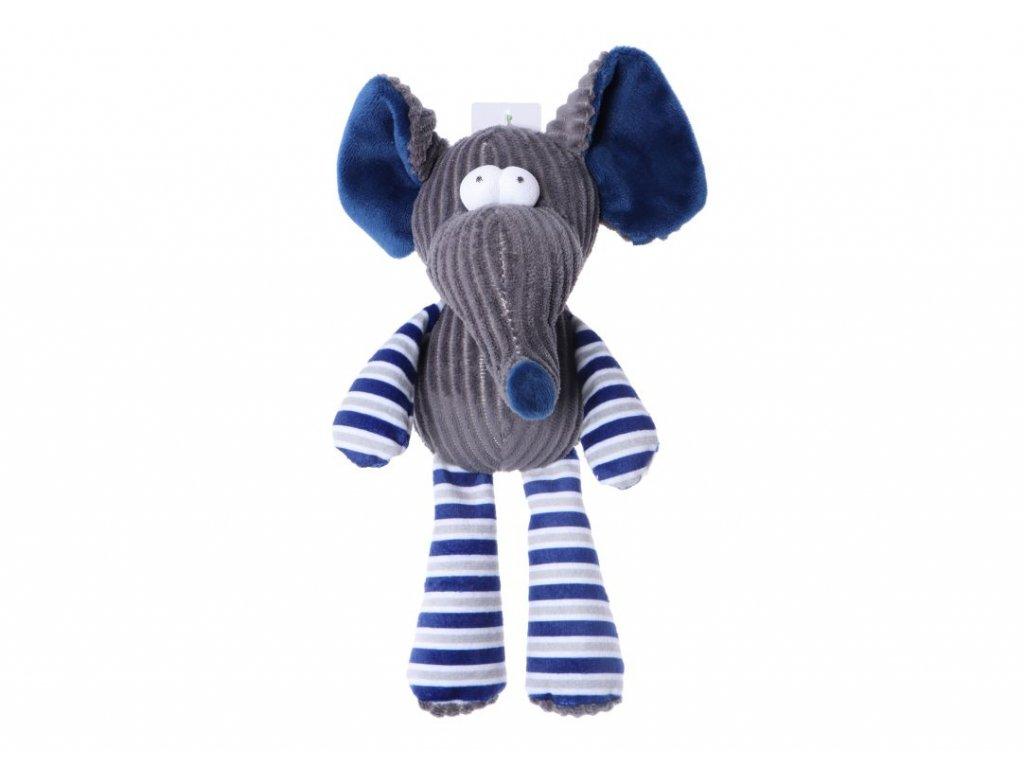 Plyšová pískací hračka pro psa Slon