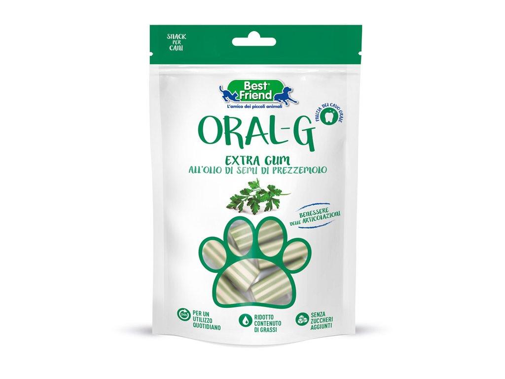 Dentální pamlsky pro psy ORAL-G petrželové na zuby a klouby