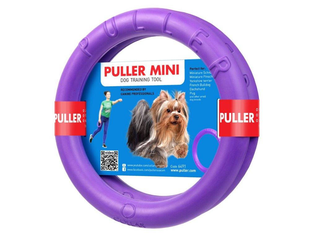 Výcviková pomůcka PULLER MINI - 2 kroužky (průměr 18cm)