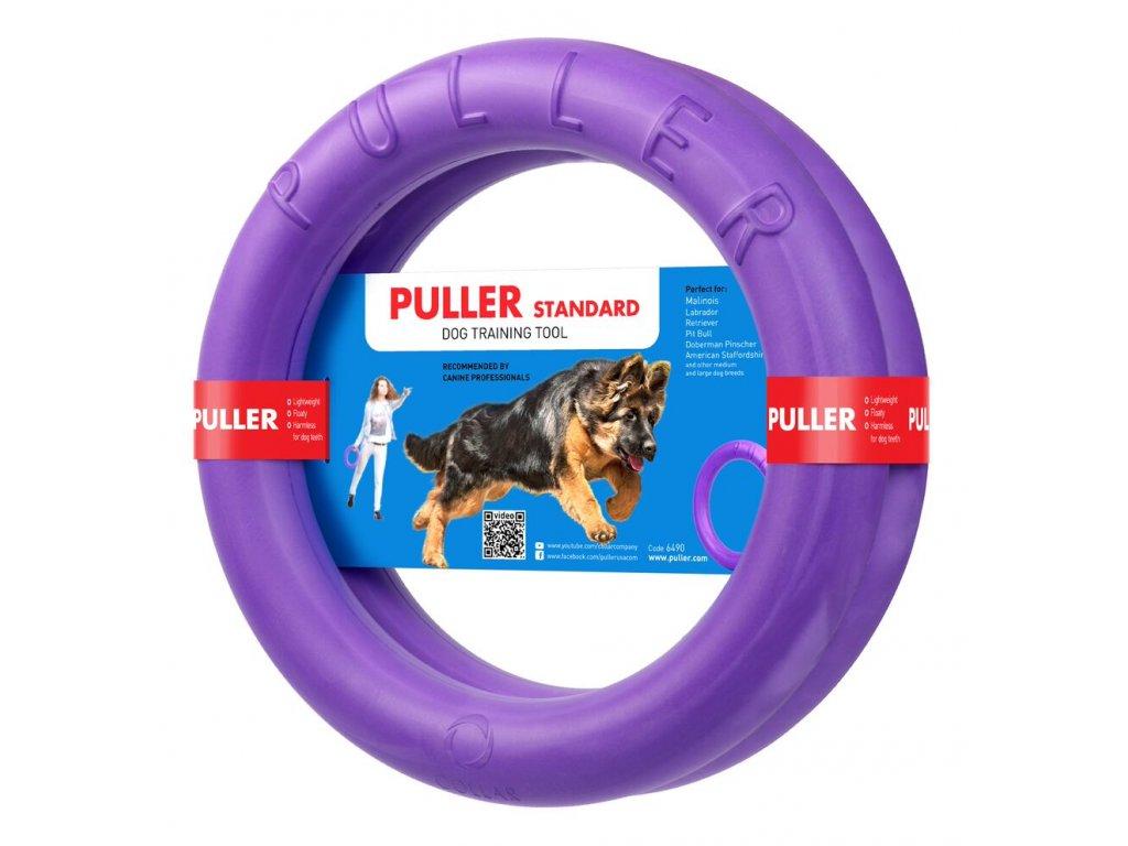 Výcviková pomůcka PULLER Standardu - 2 kroužky (průměr 28cm)