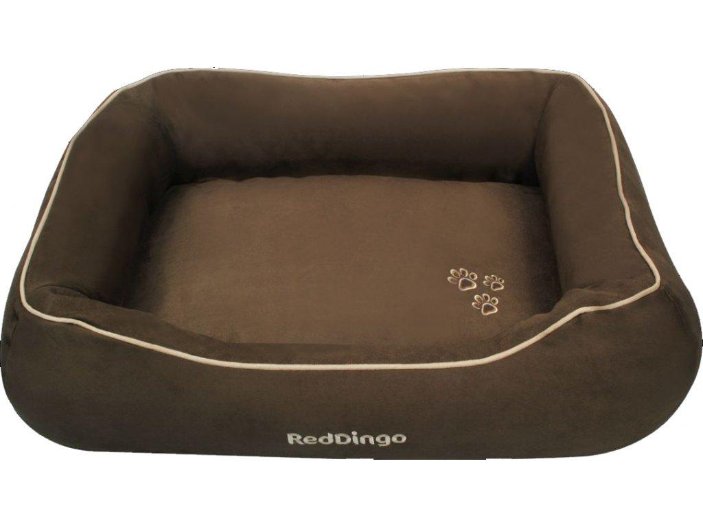 Kvalitní pelíšek pro psa Red Dingo hnědý