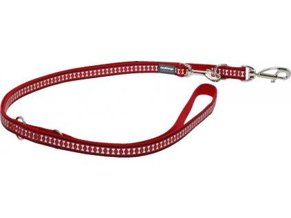 Reflexní přepínací vodítko Red Dingo červené