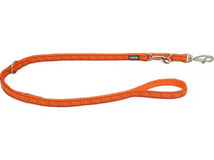 Přepínací vodítko Red Dingo HYPNO oranžové