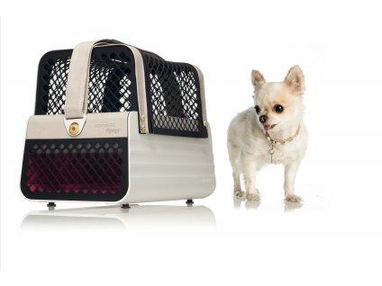 Přepravka pro malé psy a kočky do auta 4pets penthaus Los Angeles