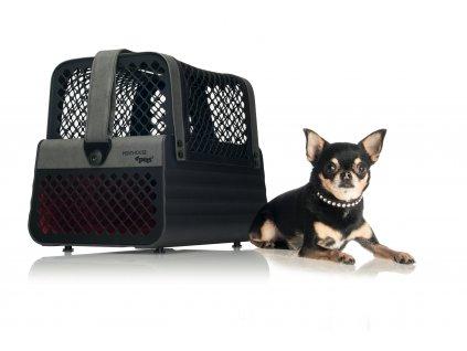 Přepravka pro malé psy a kočky do auta 4pets penthaus Montreal