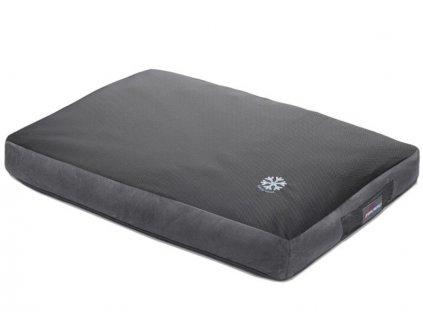 Oboustranná matrace pro psa Thermoswitch MILOS šedy chladíci a hřejíci matrace