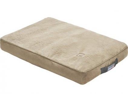 Oboustranná matrace pro psa Thermoswitch MILOS hnědá chldíci matrace a hrejíci matrace