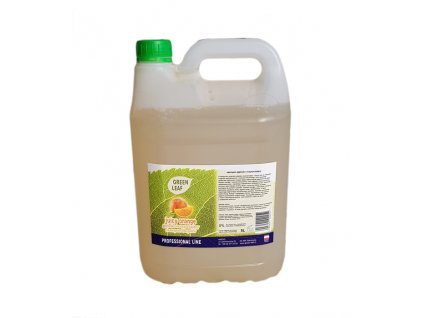 Bio šampon hloubkově čistící Green Leaf 5 litrů s vůní pomarančú