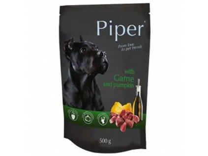 Kapsička pro psa Piper se zvěřinou a dýní 500g