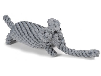 Bavlněná hračka pro psa uzel slon