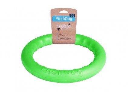 Víceúčelová hračka pro psa Pitch Dog zelené barvy.
