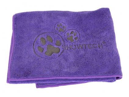 ručník pro psa fialovej barvy superabsorbčný