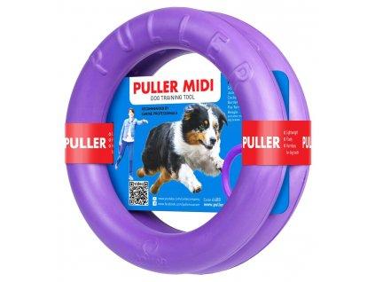 Výcviková pomůcka PULLER MIDI - 2 kroužky (průměr 20cm)