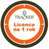 tracker licence NA APLIKACI PRODLOUZENI