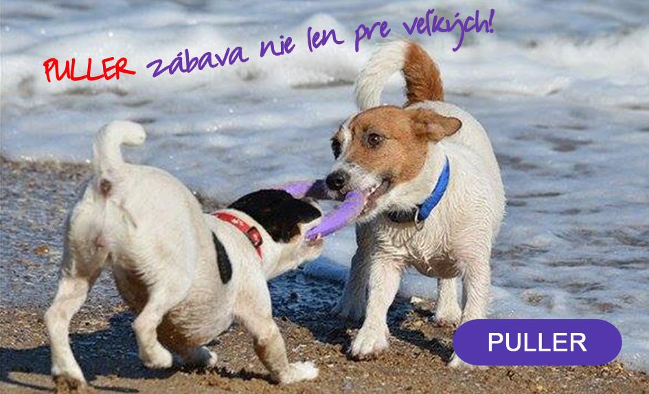 PULLER vycvikova pomocka pre psov
