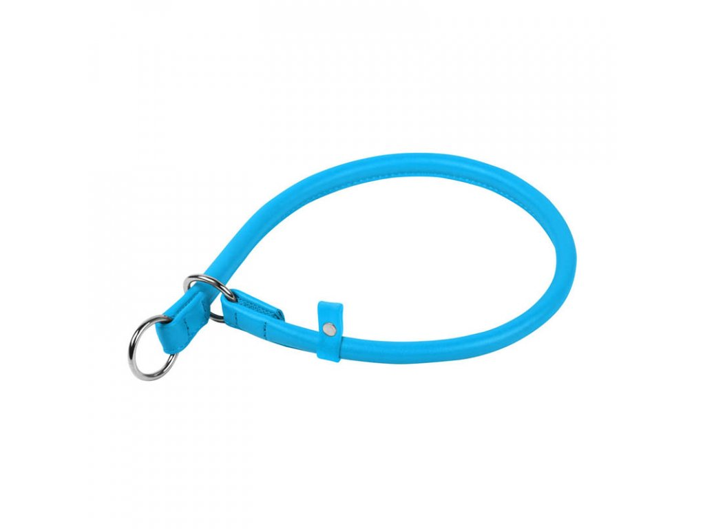 Okrúhly sťahovací modrý obojok