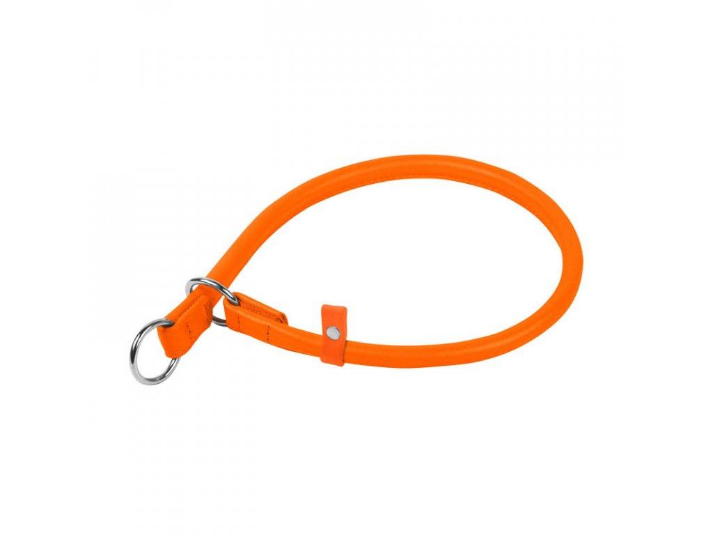 Okrúhly sťahovací oranžový obojok