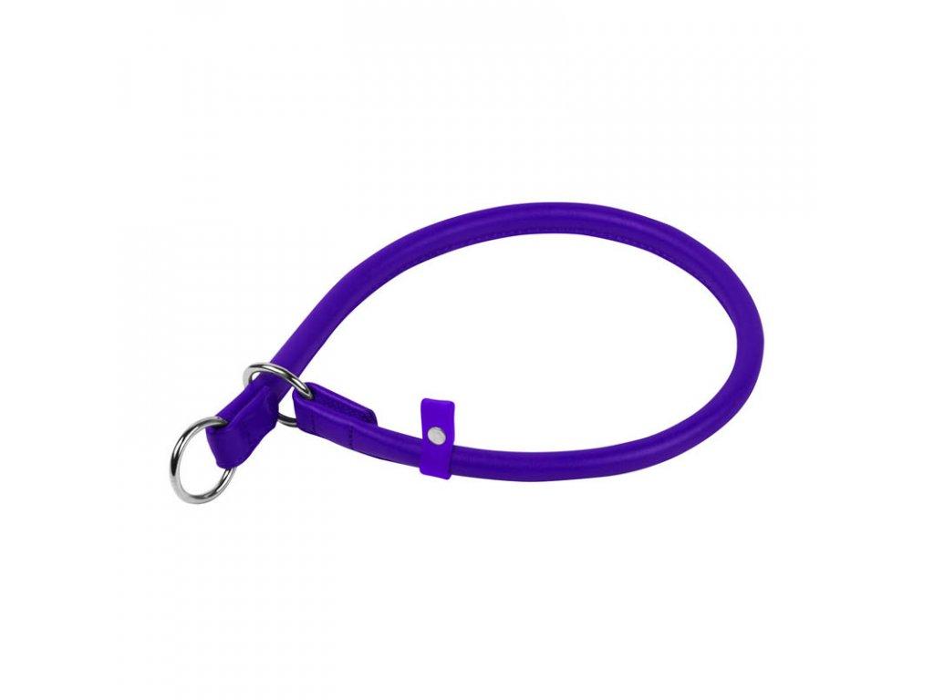 Okrúhly sťahovací fialový obojok